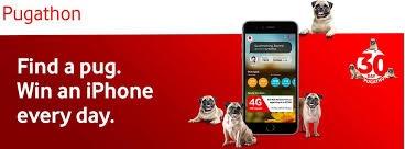 Vodafone 30 Day Pugathon Contest 2018 : Win An iPhone