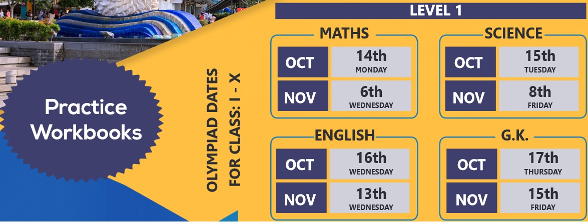 ISFO Science/Maths/English/GK Olympiads 2019-20 : Win A Trip To