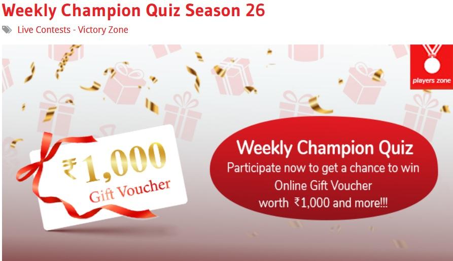 Der Quiz Champion 2021